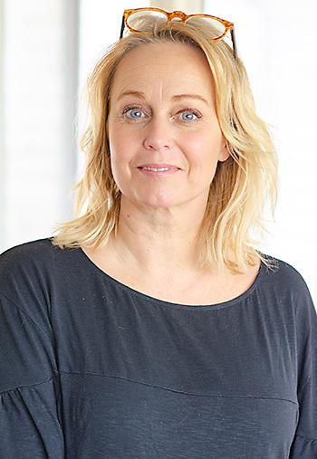 Annika Andersson, gäst hos podcasten Ett gott snack, Foto: Fredrik Strandberg