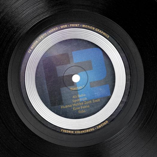 Skivomslag designade av Fredrik Strandberg
