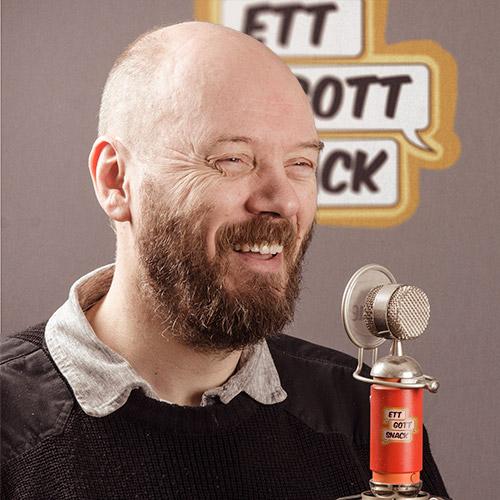 Podcasten Ett gott snack produceras av Fredrik Strandberg Multimedia
